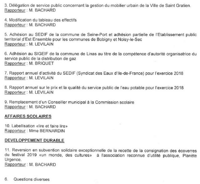 ODJ du CM septembre 2019-2
